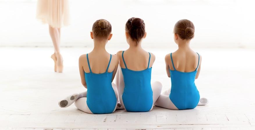 Young Dance Studio Class